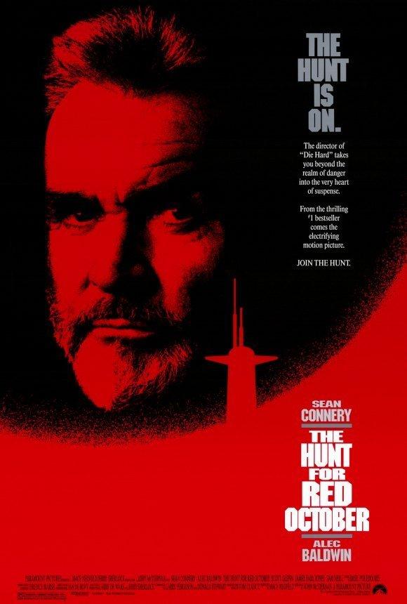 收藏 - 獵殺紅色十月 (The Hunt for Red October) - 美國 電影海報 (1990年)