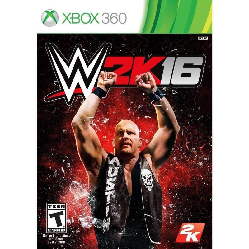 【二手遊戲】XBOX360 激爆職業摔角 美國勁爆職業摔角 2016 WWE 2K16 英文版【台中恐龍電玩】