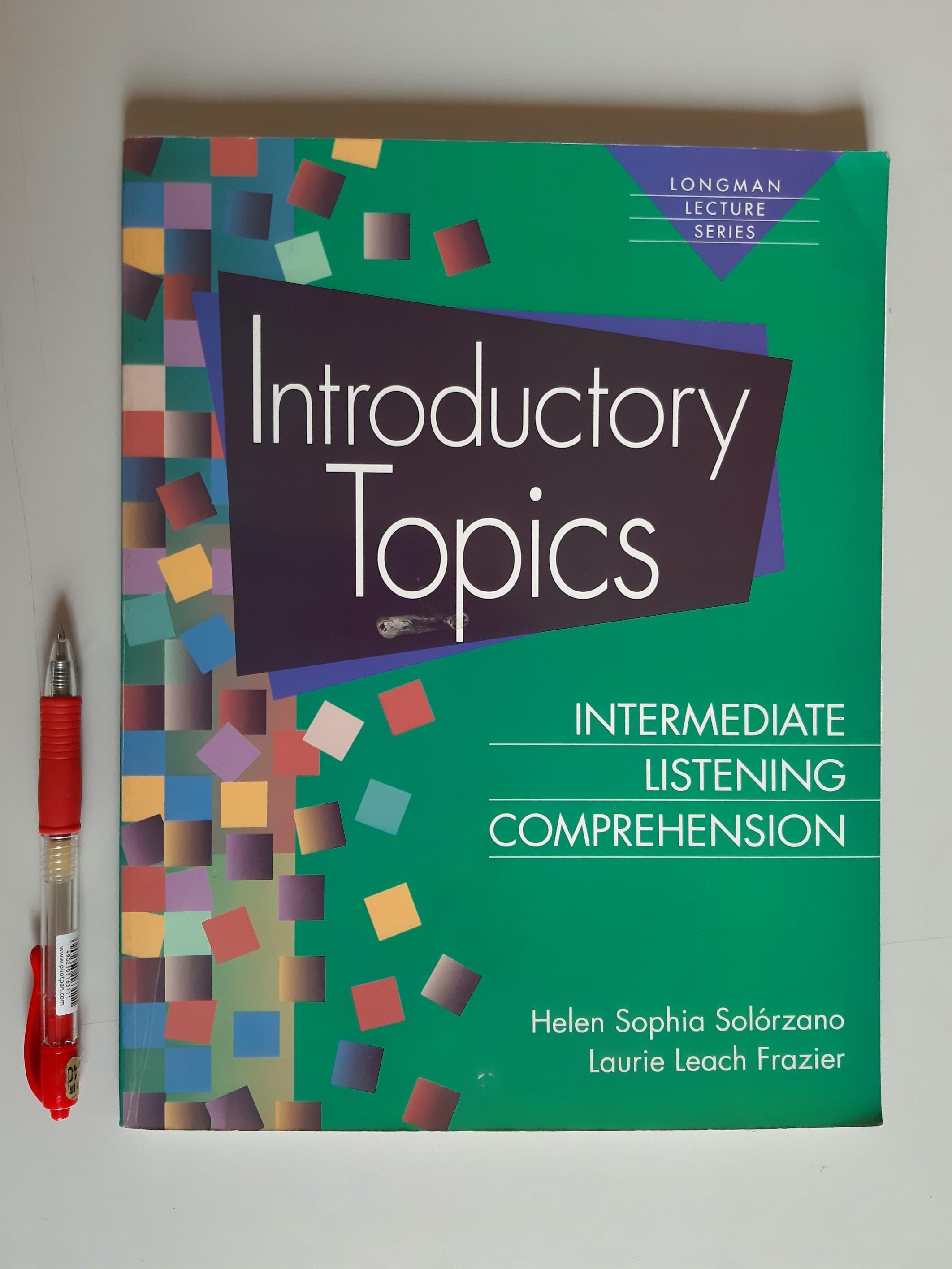 英文聽力理解(中級) Introductory Topics【新書 未 贈3CD】Longman Lecture Series
