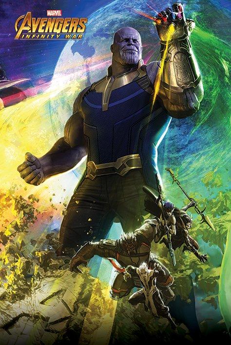 海報 英國 海報 PP34302(復仇者聯盟 Avengers Infinity War 無限之戰 )