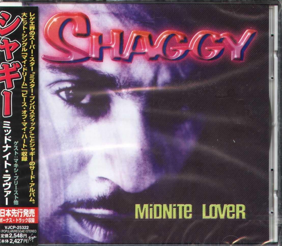 K - Shaggy - Midnite Lover - 日版 +1BONUS - NEW