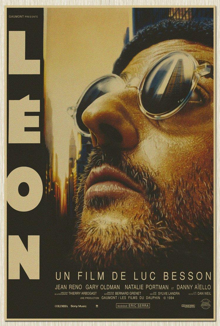 【貼貼屋】終極追殺令 L #x27 eon 懷舊復古 牛皮紙海報 壁貼 店面裝飾 電影海報 409