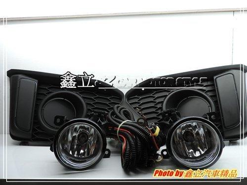 ※ 鑫立汽車精品 ※ FIT 14-17 原廠型霧燈 霧燈 總成 含外框 開關 線組