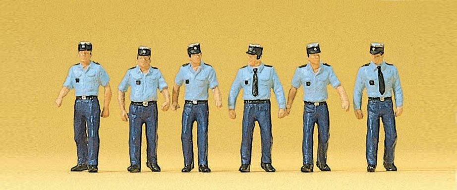 傑仲 (有發票) 博蘭 公司貨 Preiser 人物組 Policemen,wearing 10341 HO
