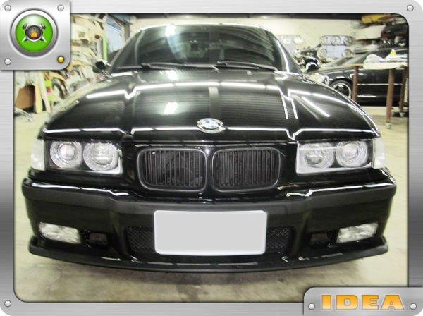 泰山美研社681 BMW E36 M3樣式 前保桿(下巴分離式)  E46 E39 E60 E90