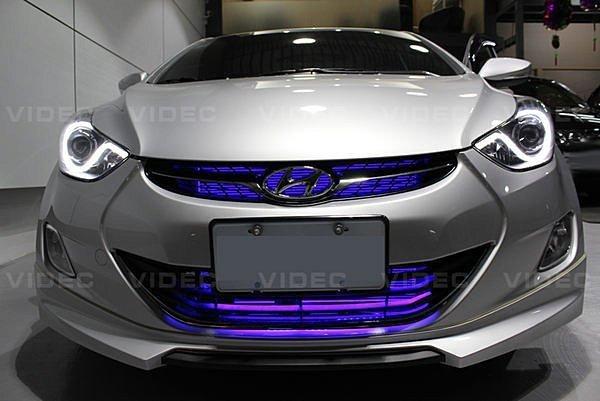 大台北汽車 ELANTRA LED 氣氛燈 地毯燈 氣壩燈 SMD LED 軟燈條 5050 三晶發光 HID