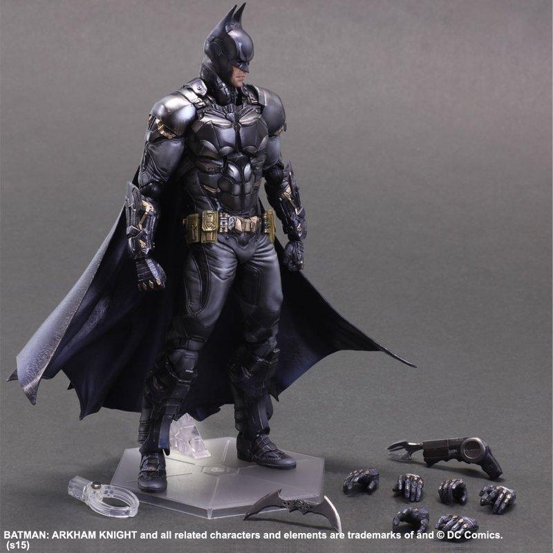 Play Arts改 蝙蝠俠 阿卡漢騎士 BATMAN 城市 起源