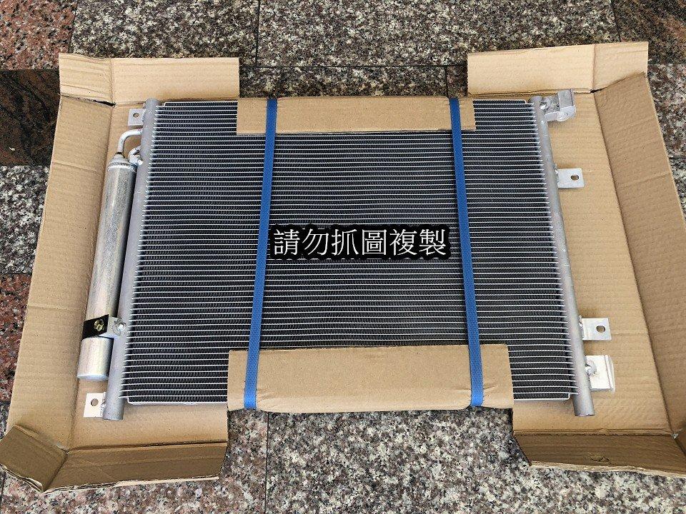 日產 MARCH 2012- K13 全新 冷排 附白干 另有冷媒管 壓縮機 膨脹閥 風箱仁 發電機 啟動馬達 大燈尾燈
