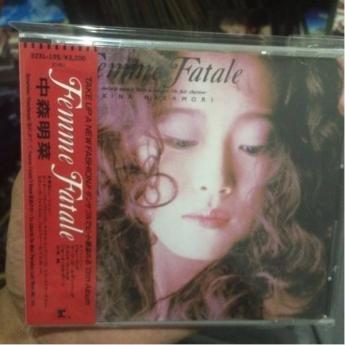 中森明菜/Femme Fatale 3200円32XLI側標 CD 日本版