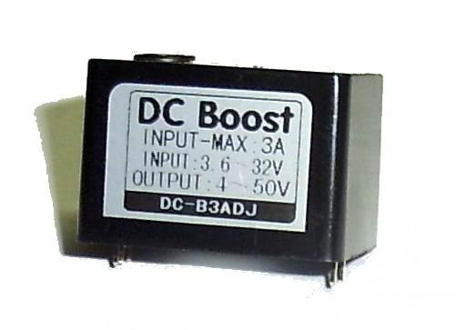 DC-DC 直流電壓轉換 可調升壓模組 IN 3.6~32V OUT 4~50V Max3A