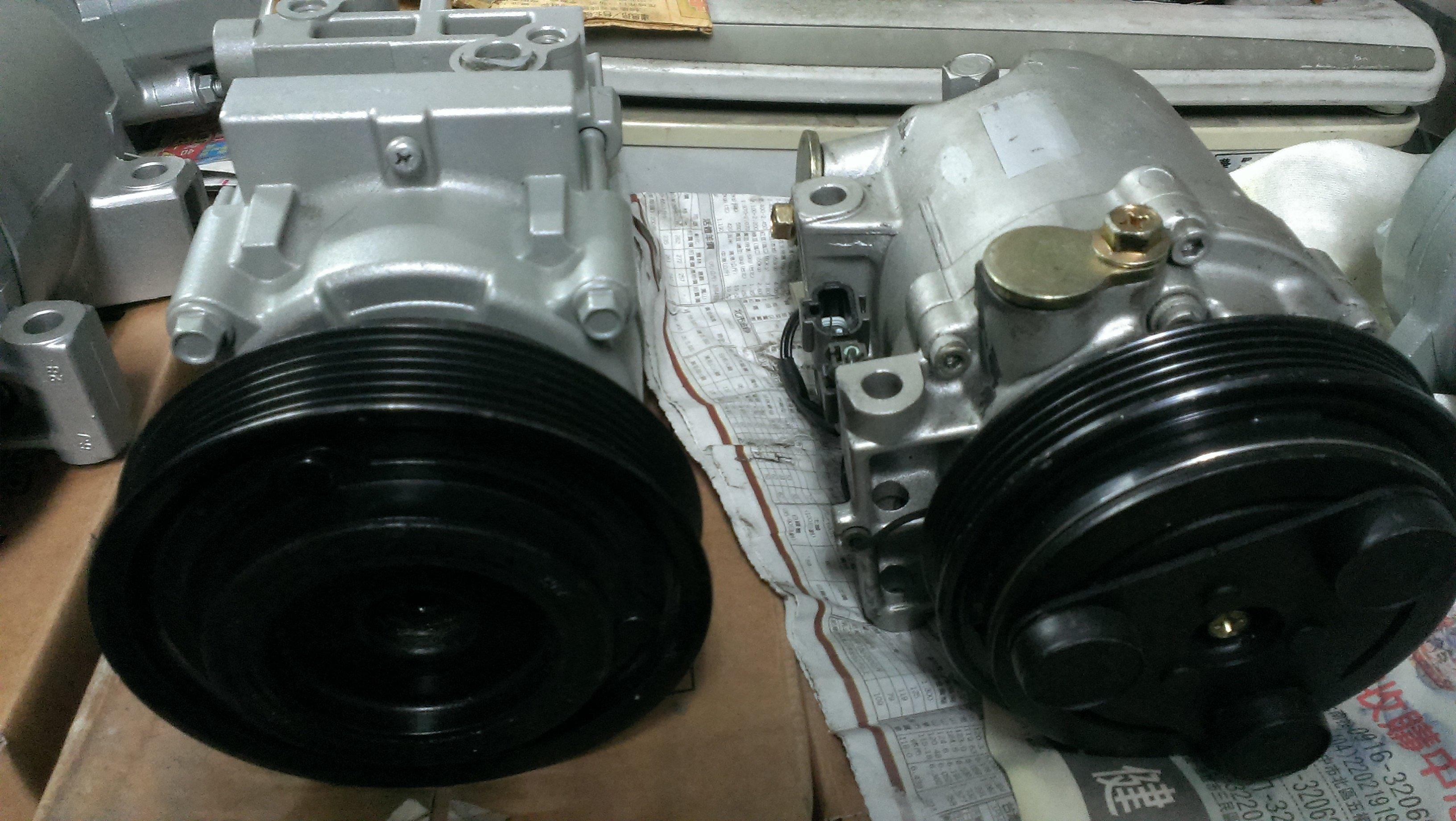 工廠直營 01-05年TOYOTA ALTIS專用冷氣壓縮機異音/冷氣不冷/AC故障 /壓力不足/風扇