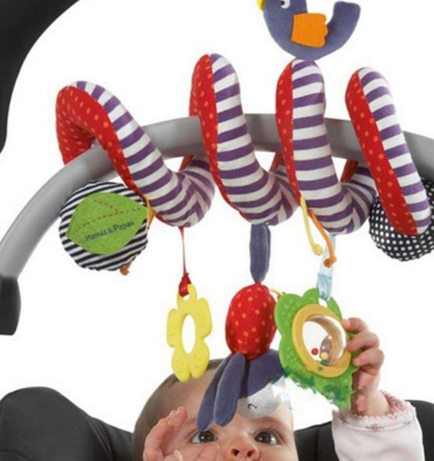 *meeting遇見*~【寶寶床邊嬰兒車風鈴玩具固齒器組】( )