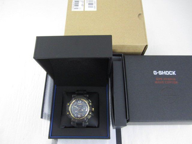 G-SHOCK GPW-1000FC-1A9 電波強化橡膠概念錶(金框X黑/56mm)*只要16500元*(GF121)