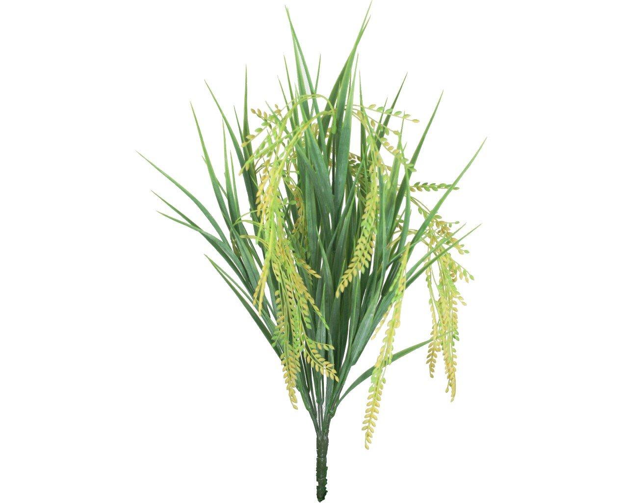 [勁果UJ]PVC7頭稻穗/wheat/人造花草/仿真花草/柵欄圍籬/生意盎然/情人節/豐收/穀物/興隆/花藝材料/佈置
