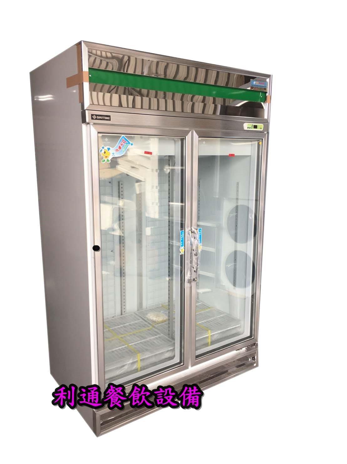 《利通餐飲設備》得台 2門玻璃冰箱 雙門冷藏冰箱  兩門冷藏玻璃冰箱 西點櫥.飲料櫃.展示櫃.小冰箱.檳榔攤冰箱