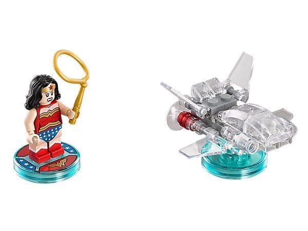 【LEGO 樂高 】100% 美國正品 益智玩具 積木 DC COMICS 三合一次元系列 神力女超人 71209