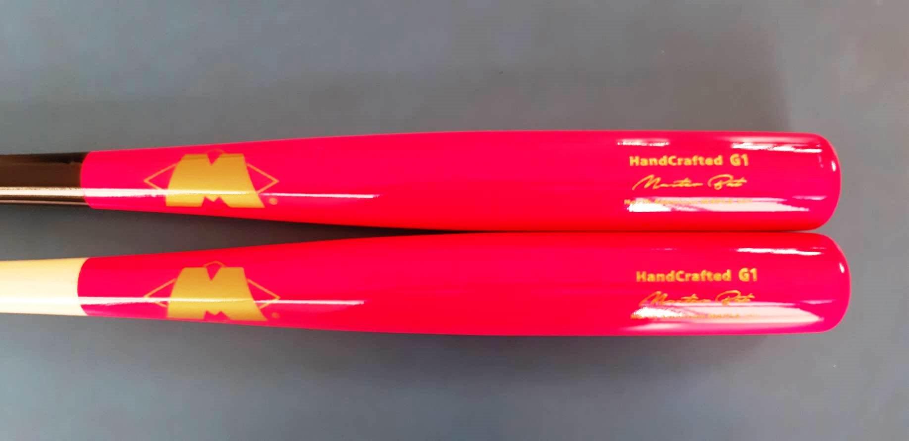 ((綠野運動廠))最新Master麥斯特手作球棒~北美頂級楓木壘球棒G1重頭型-全實木店訂版,打彈性佳,烤漆質感優~免運