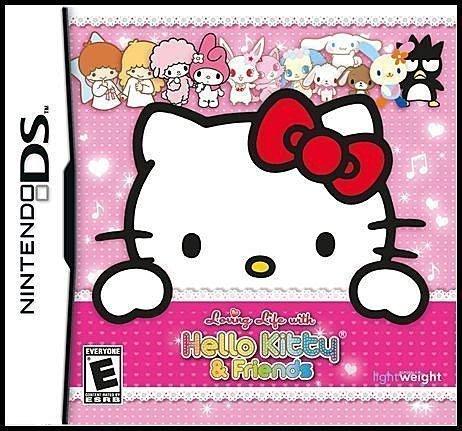 NDS 全新美版【凱蒂貓和 Sanrio 朋友們的可愛生活】《HELLO KITTY》