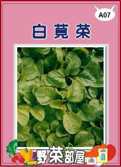 【野菜部屋~蔬菜種子】A07 白莧菜種子10公克(約15000粒) ,葉多質嫩 ,每包12元 ~~