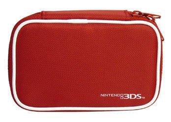 [哈GAME族]日本 HORI 原廠 N3DS 專用 隨身包 收納包 保護包 紅 3DS-007