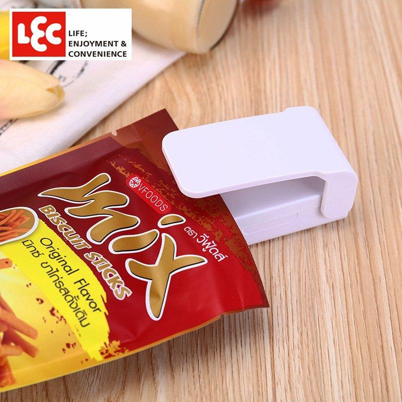 優品 居家優品 便民  潮流 日系 封口器便攜迷你零食密封器小型家用電熱塑料袋手壓式熱封機