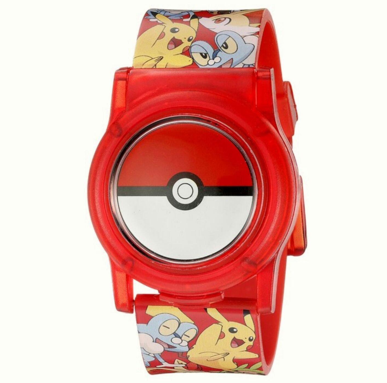 現貨 美國帶回 全球夯 Pokemon 精靈寶可夢 GO精靈球神奇寶貝動漫兒童電子錶 學習手錶 生日禮 聖誕禮