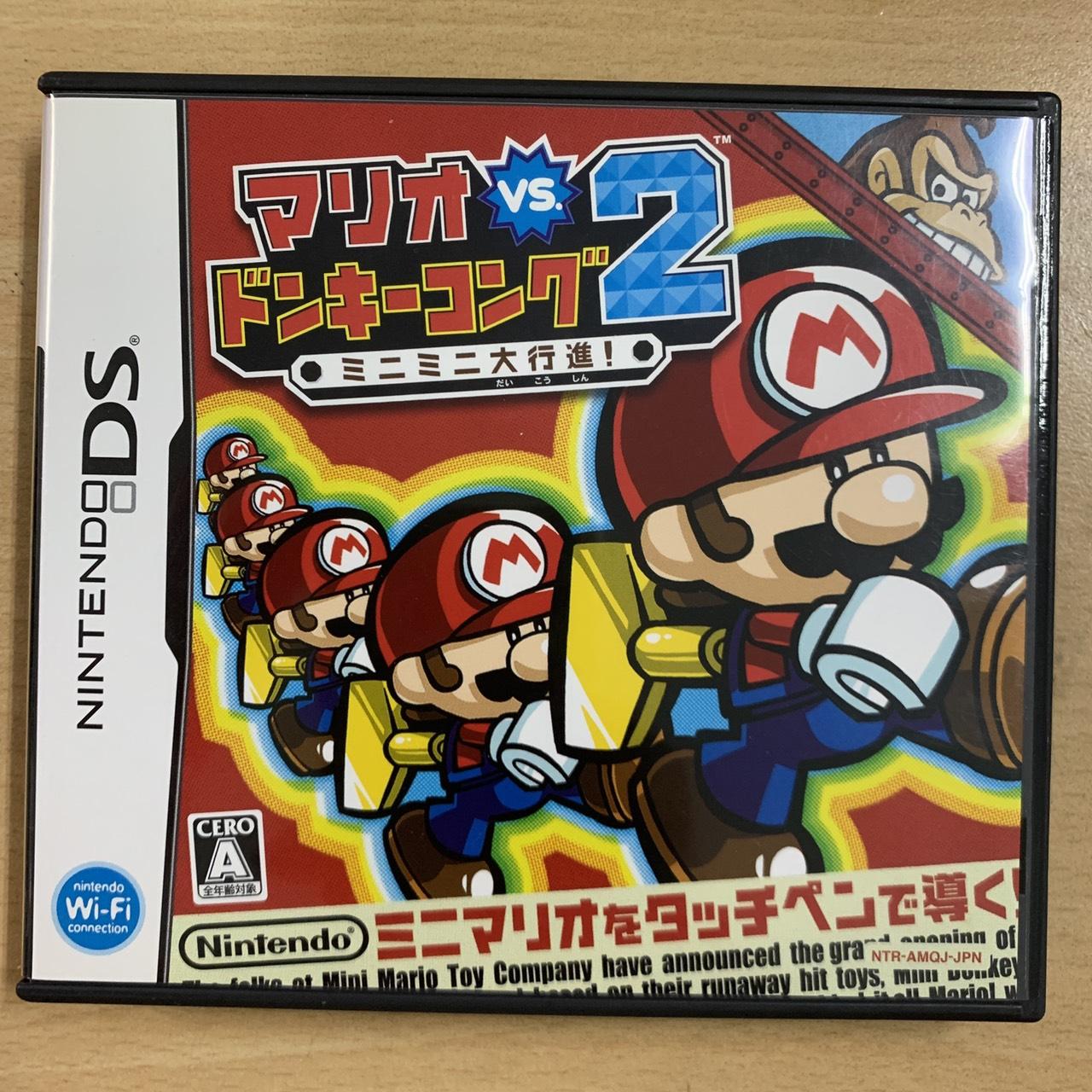 【飛力屋】日版 任天堂 NDS 瑪莉歐 vs 大金剛 馬力歐 迷你大行進 純日版 3DS主機可以玩