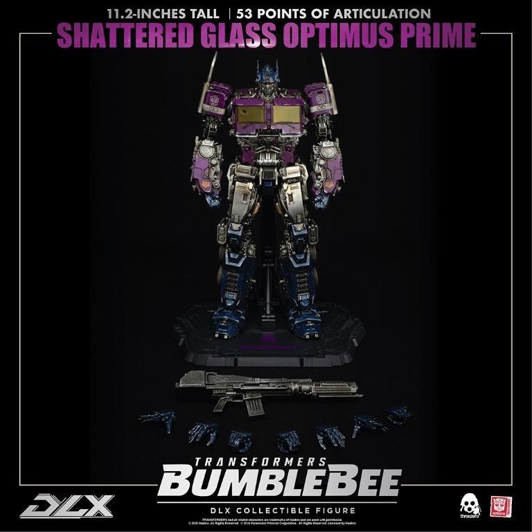 全新 3A ThreeA 變形金剛 大黃蜂 DLX Optimus Prime 鏡像 柯博文