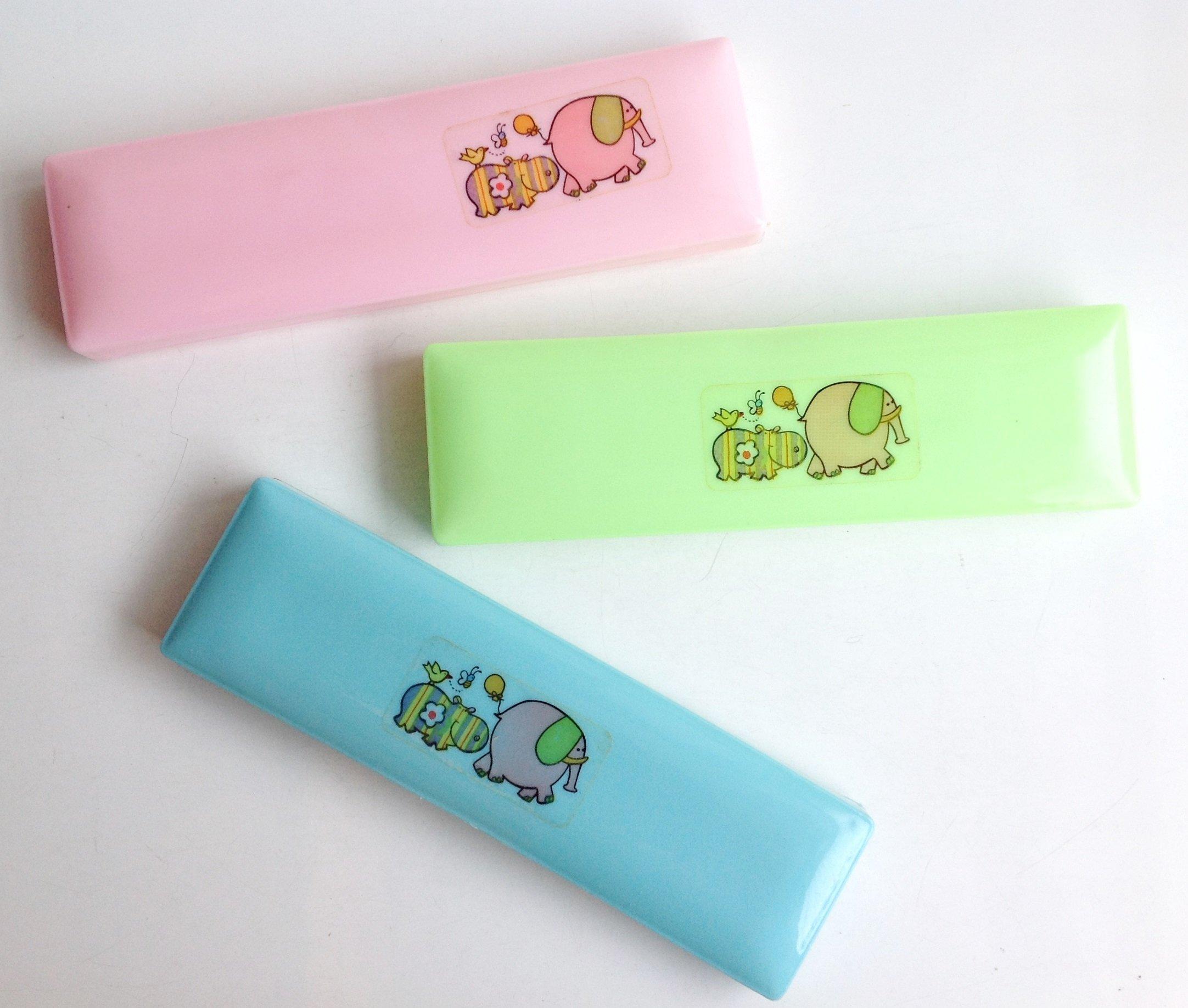 《**童趣** 》懷舊復古 掀蓋式鉛筆盒 置物盒 ~ (大象  河馬)3款合售!!小款!!