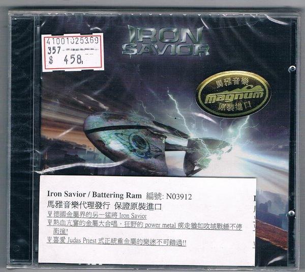 [鑫隆音樂]西洋CD-Iron Savior:Battering Ram(全新)免競標