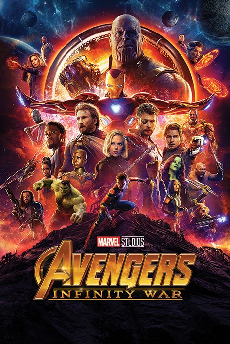 海報 英國 海報 PP34338(復仇者聯盟 Avengers Infinity War 無限之戰 )