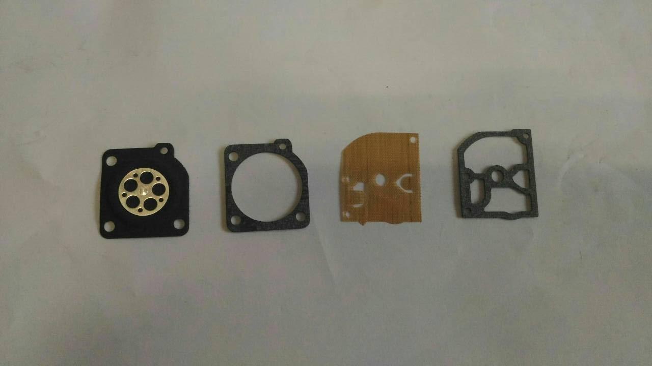 德國系統 引擎鏈鋸 化油器膜片一組 透明按油球2個