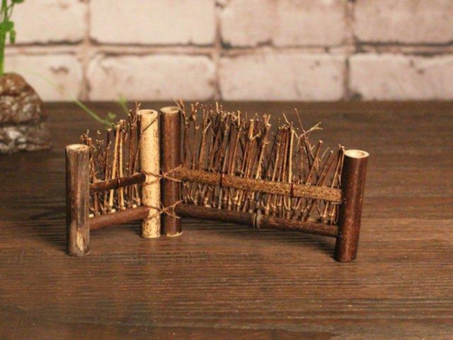 竹屏風 竹籬笆 斜邊式 (小) 茶道用具 店面 茶桌 裝飾 拍照道具