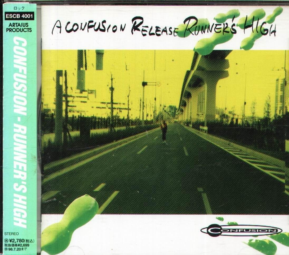 K - CONFUSION - RUNNER'S HIGH - 日版 +OBI