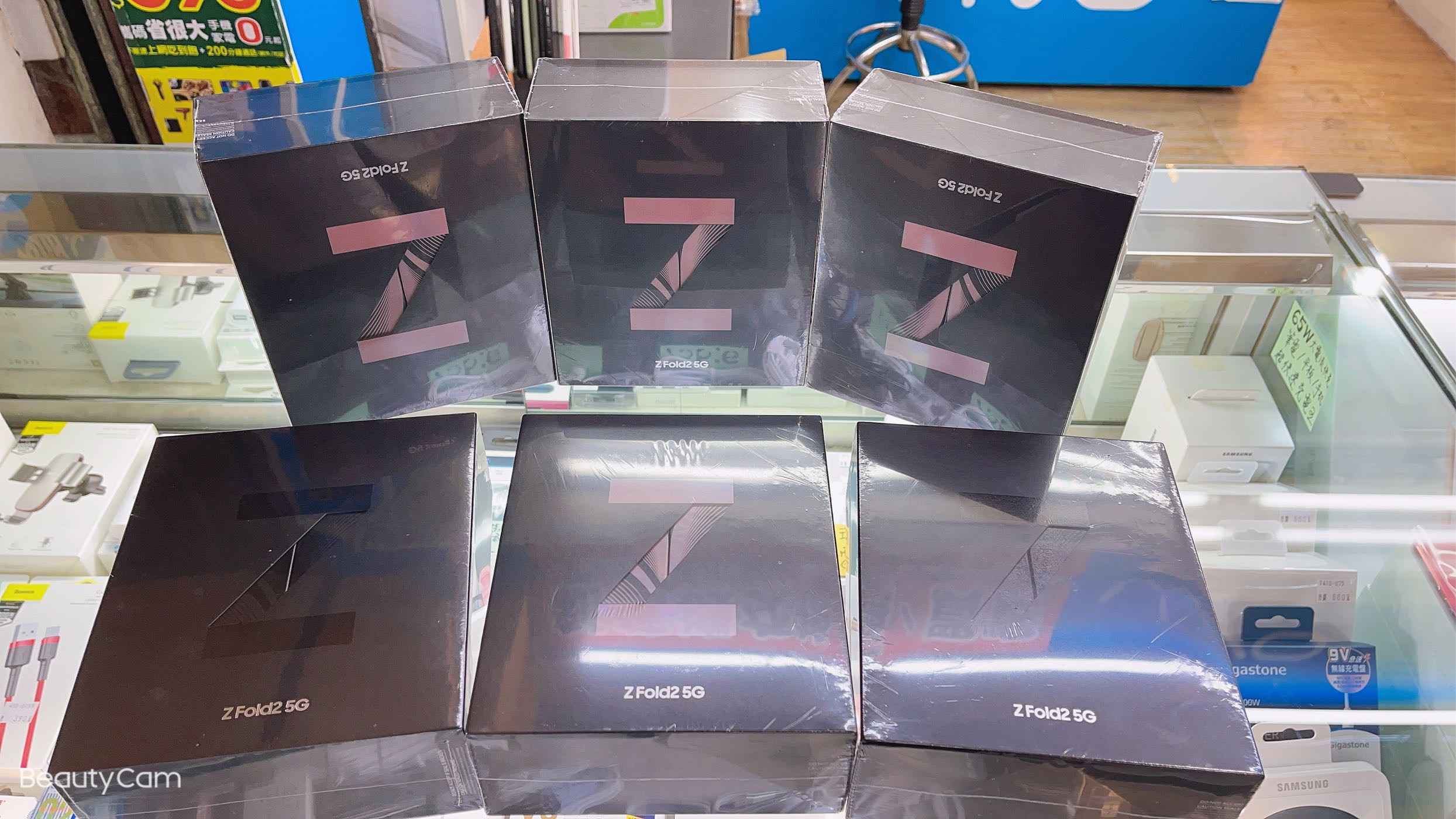 全新未拆 三星 SamSung Z Fold2 12+256 折疊機 折疊手機 金色 黑色 12/256 旗艦機 大螢幕 2代折疊機 另有Z Flip
