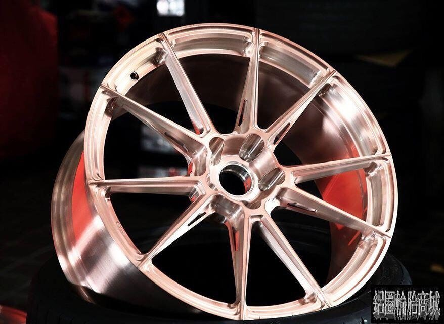 全新 20吋 BC EH 182 單片鍛造鋁圈客製化 玫瑰金 各車規格訂製 另有 18吋 19吋 21吋 22吋
