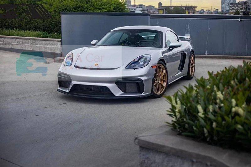 Porsche 保時捷 718 改装 賽道版  1:1 GT4 大包圍 前保桿 後下巴 尾翼 前大包 下巴