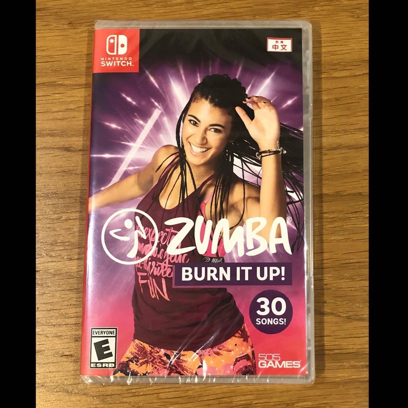 [BoBo Toy]  現貨 NS Switch Zumba Burn It Up! 倫巴 尊巴 健身 中文版