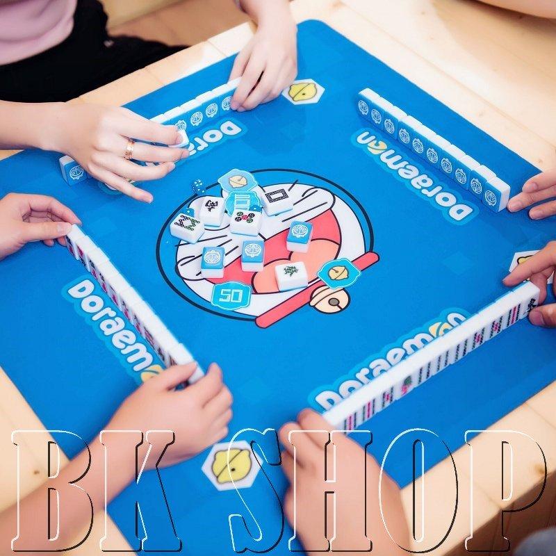 【BK SHOP】卡通高檔 迷你旅行麻將/手搓自動麻將機用-哆啦A夢;小丸子(預購)