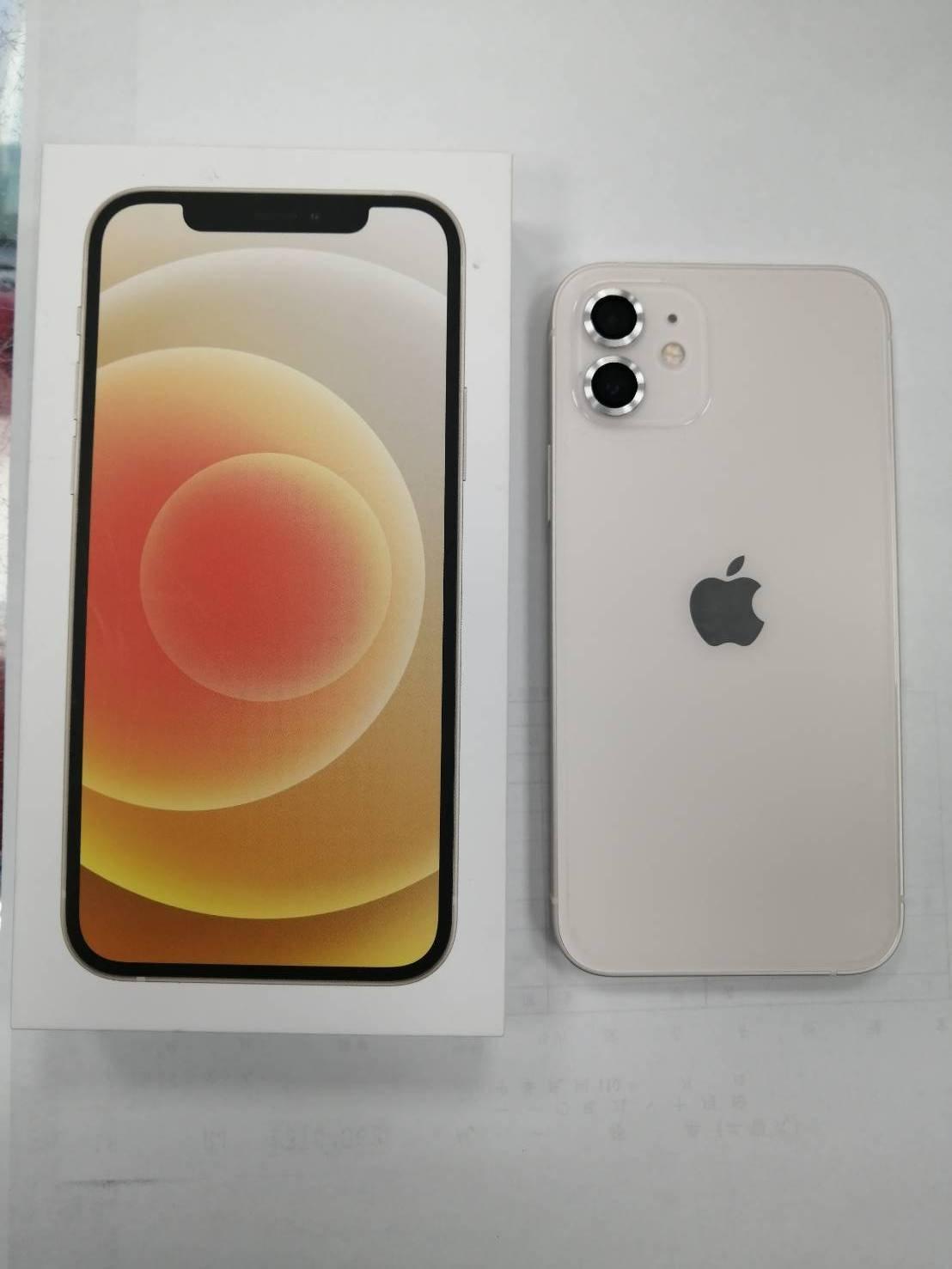 (台中手機GO)蘋果 Apple iPhone 12 128GB盒裝9成9新中古機保固至2022年8月25日