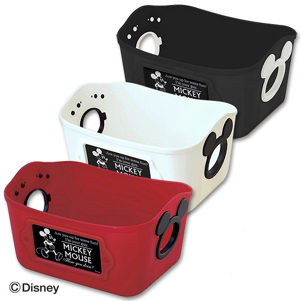 ♡fens house♡  米奇 mickey 多用途 收納盒 置物盒 置物籃 整理盒 製 3個一組