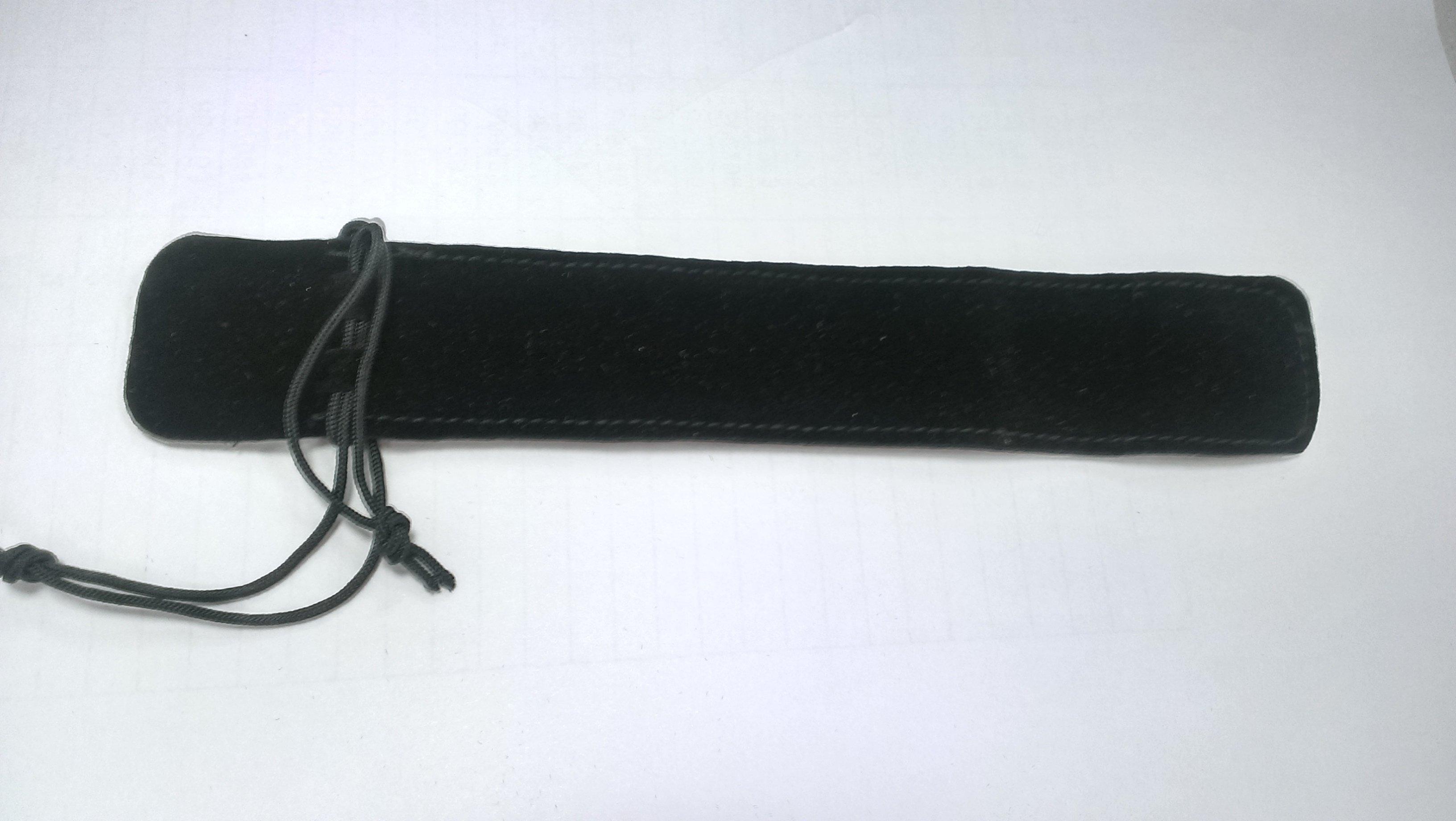 水晶筆 雙面絨布套筆袋 筆套~黑色束袋( 施華洛世奇swarovski 的水晶筆) 賣筆芯