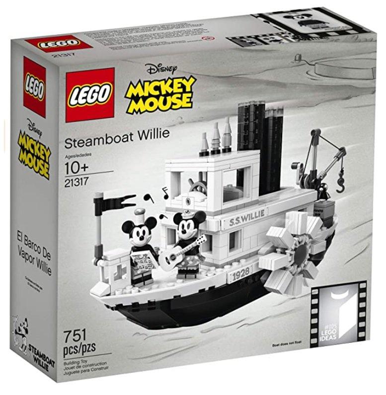 *免運* LEGO 21317 Disney 迪士尼 Steamboat Willie 樂高正品 NT$3,699