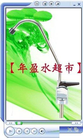 【年盈淨水】2分鵝頸龍頭,RO逆滲透 淨水器 零
