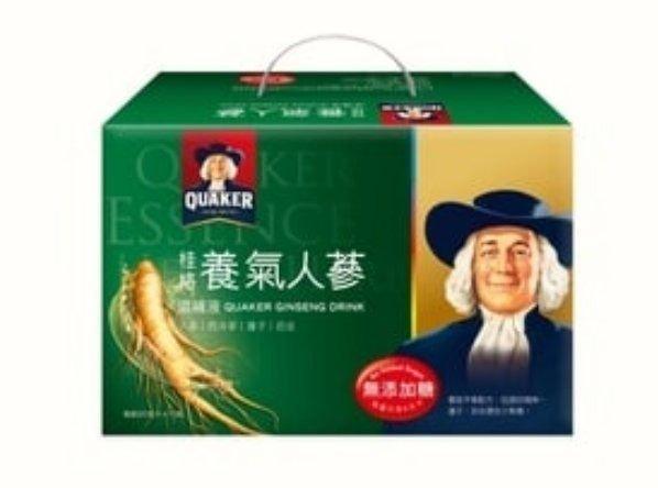 桂格養氣人蔘禮盒19入【無糖】
