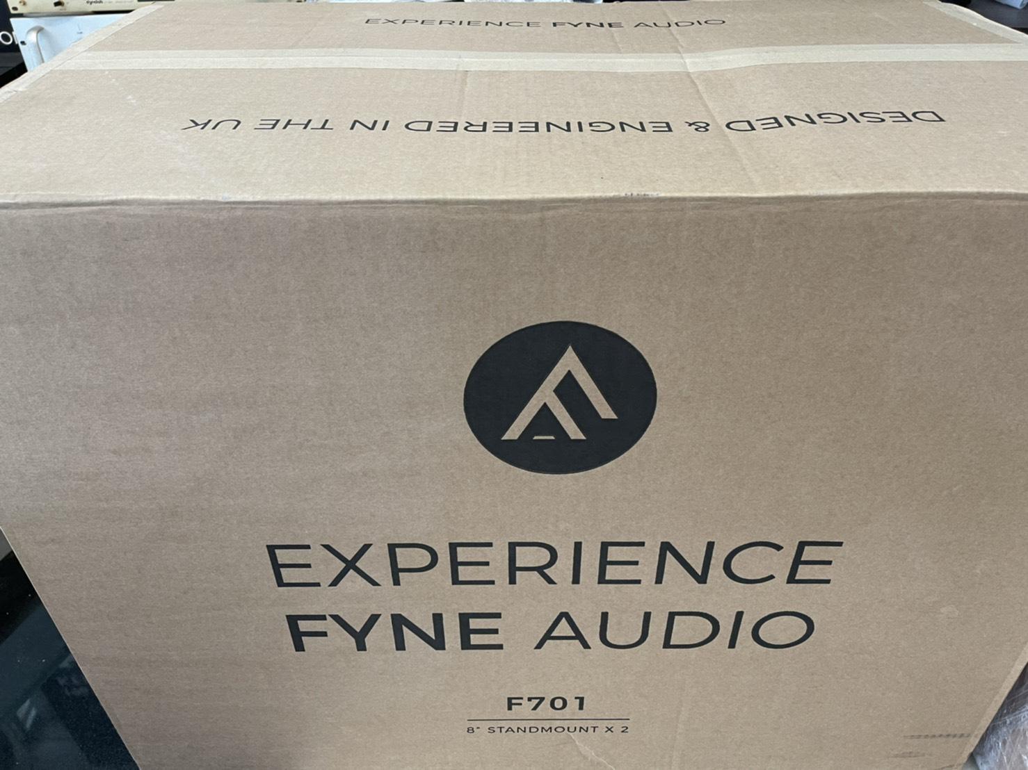 ~台北台中鳳誠影音~ FYNE AUDIO F-700 TANNOY 蘇格蘭頂級八吋書架同軸喇叭(歡迎議價另有F701)