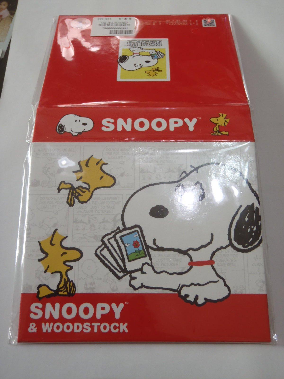 少量到貨 Snoopy 史努比 拍立得 收納 相本 相簿 可放40張MINI底片 另售 空白 黑白 糖果 KITTY底片