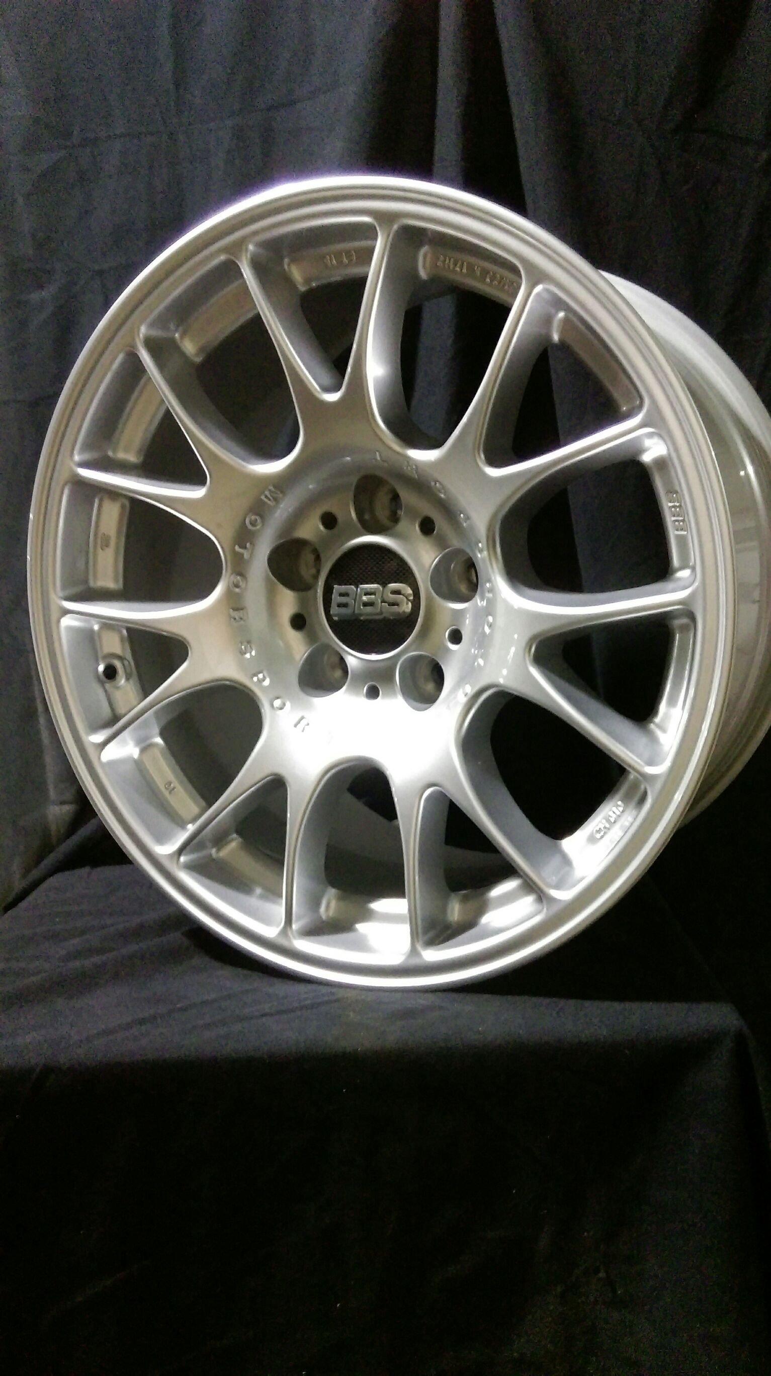 BBS德國原廠全新正品 CH 17吋鋁圈 BMW E34 E38 E39 E60 E30 M3 專用