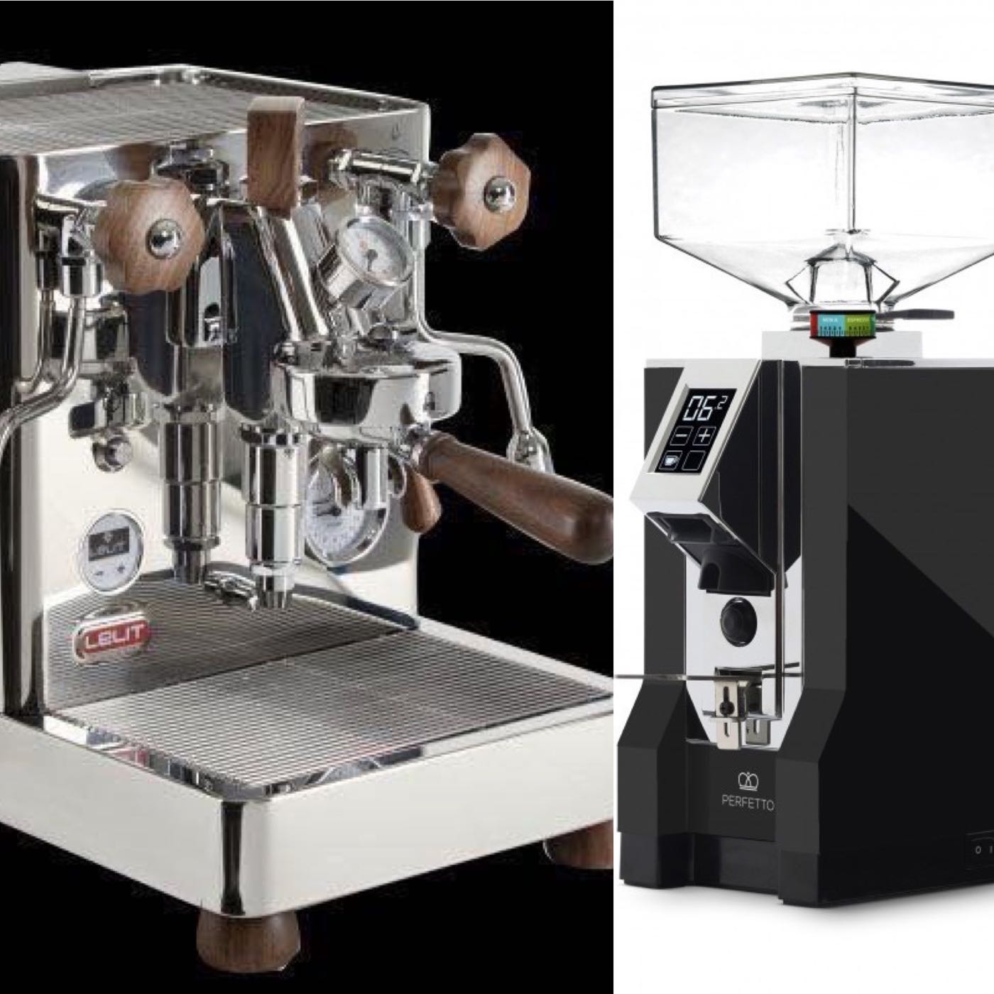 🇮🇹LELIT PL162T義式咖啡機+🇮🇹Eureka Mignon Specialita 110V 義式專用專業定時磨豆機 觸控/靜音 優惠組合