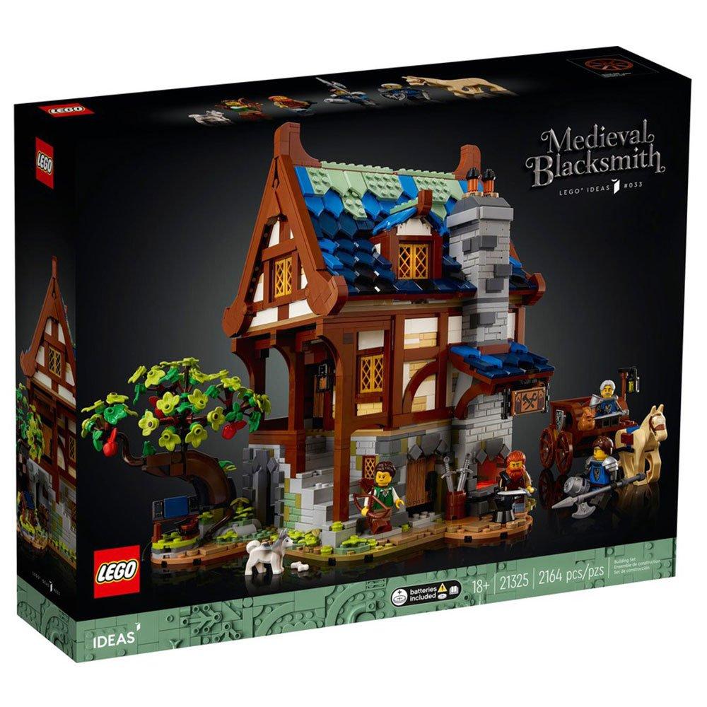 台中*宏富*LEGO 樂高積木 Ideas系列 21325 中世紀鐵匠